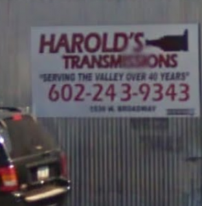 Harold's Transmissions