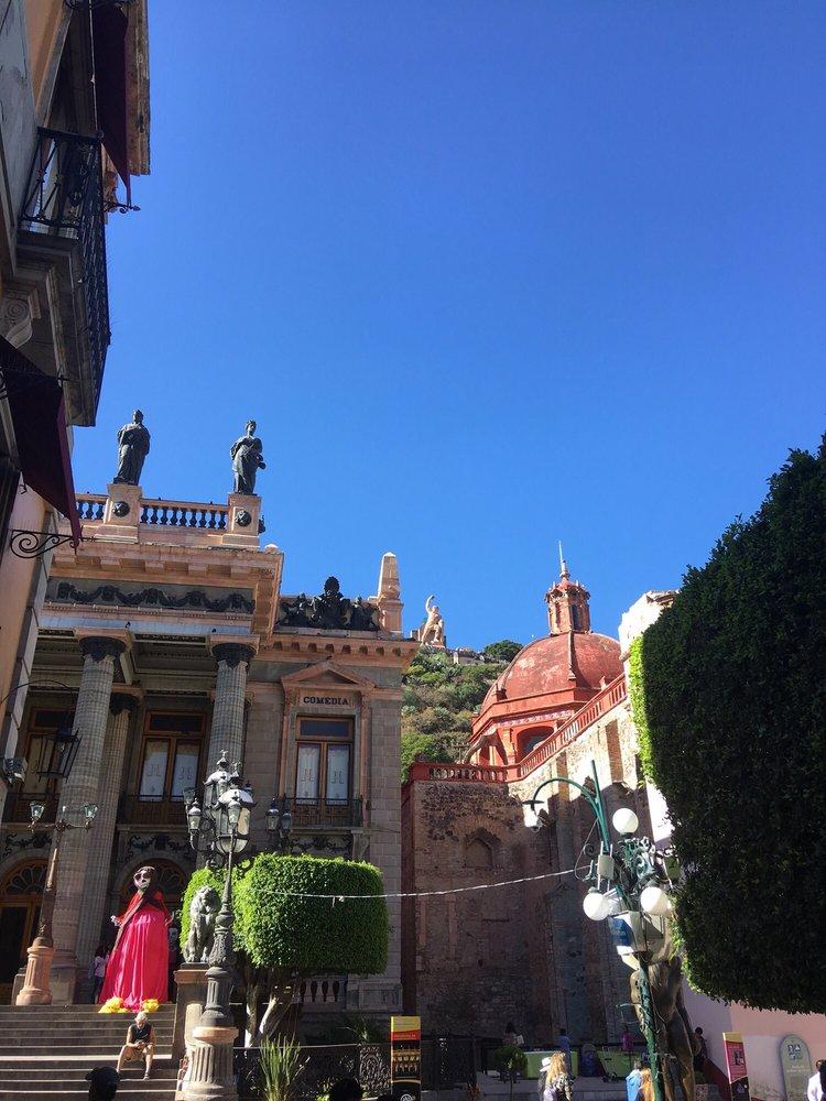 Hotel 1850 hoteles jard n de la uni n 7 marfil for 7 jardines guanajuato