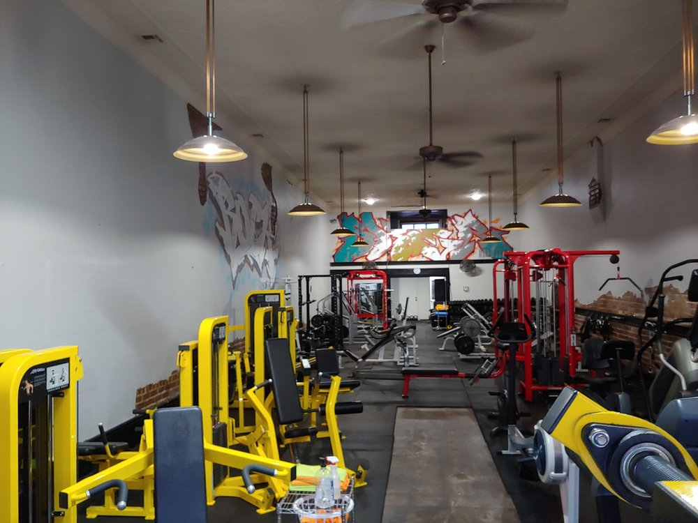 The Rock Fitness Center: 1108 W Main St, Collinsville, OK