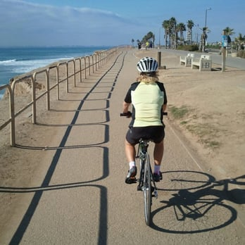 Photo Of Huntington Beach Bicycle Trail Ca United States Catch