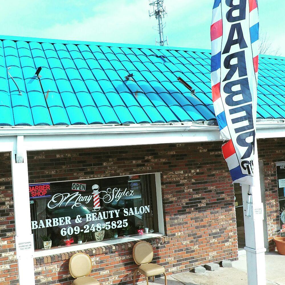 Many Stylez Barber & Beauty Salon: 22 Juliustown Rd, Browns Mills, NJ