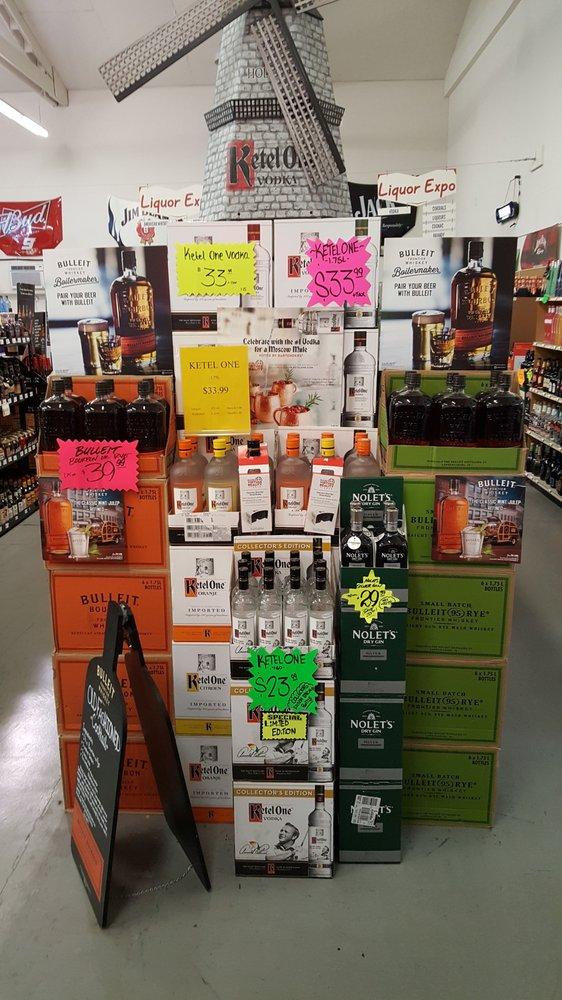 Liquor Expo: 9320 Old Hwy 99 S, Grenada, CA