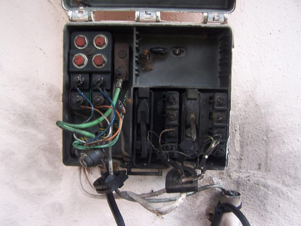 Power Surge Damage To Telephone Interface At A Family