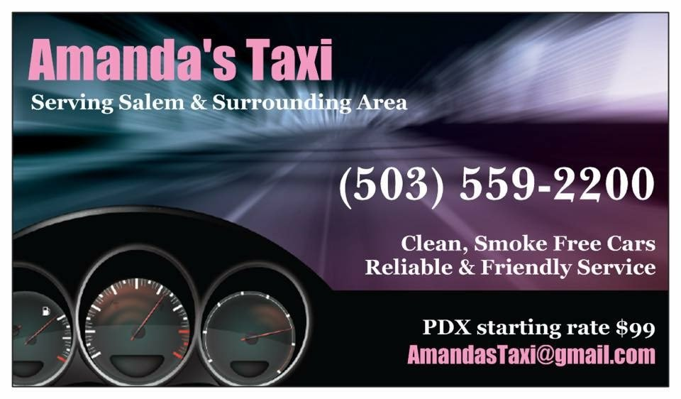 Amanda's Taxi: Salem, OR