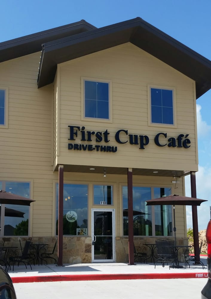 First Cup Cafe Katy Tx