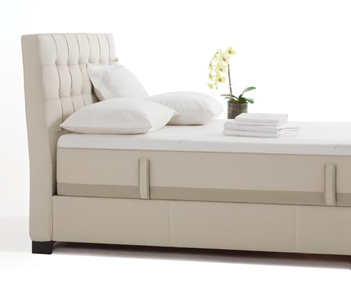 Pavillion Linen Bed w Powercore Plus Mattress Yelp