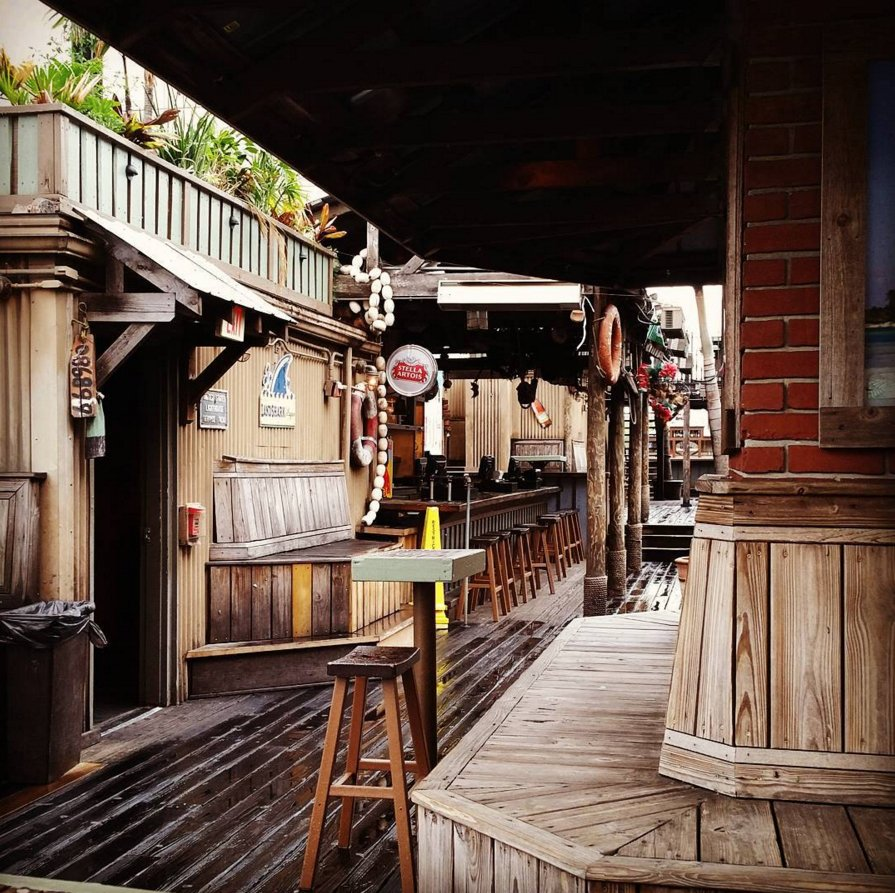 Latitudes Rooftop Tiki Bar: 33 W Church St, Orlando, FL