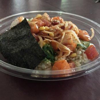 Lovfish poke bowl 573 photos 361 reviews japanese for Fish me poke menu