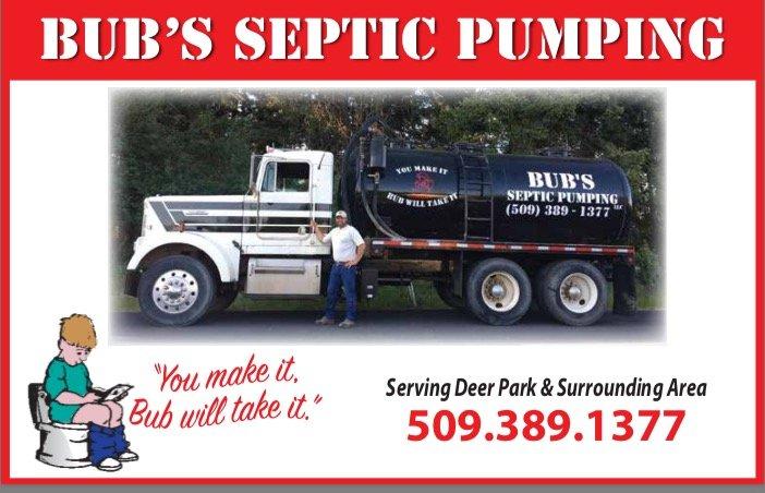 Bub's Septic Pumping: Deer Park, WA