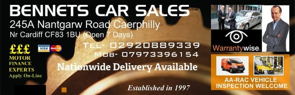 Bennets Car Sales Caerphilly