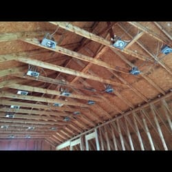 photo of stinson electrical - youngsville, nc, united states  can lights  and wiring