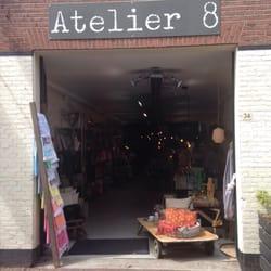 Atelier 8 Wohnaccessoires Gasthuisstraat 34 Haarlem