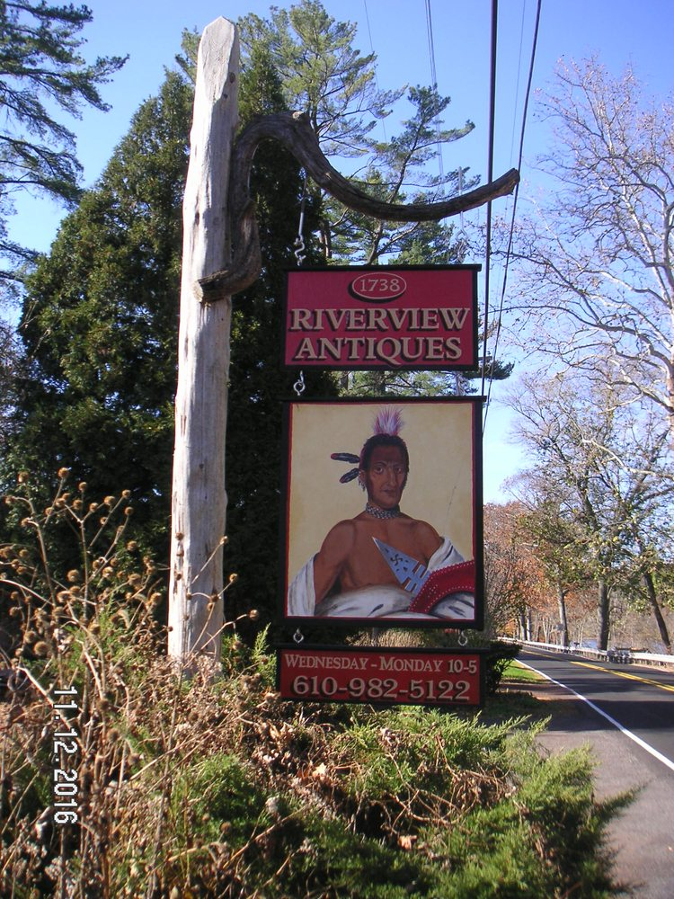 Riverview Antiques: 1738 River Rd, Upper Black Eddy, PA