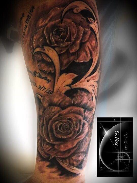 Rose tattoo custom tattoo shop las vegas tattoo shop for Best tattoo shops in vegas