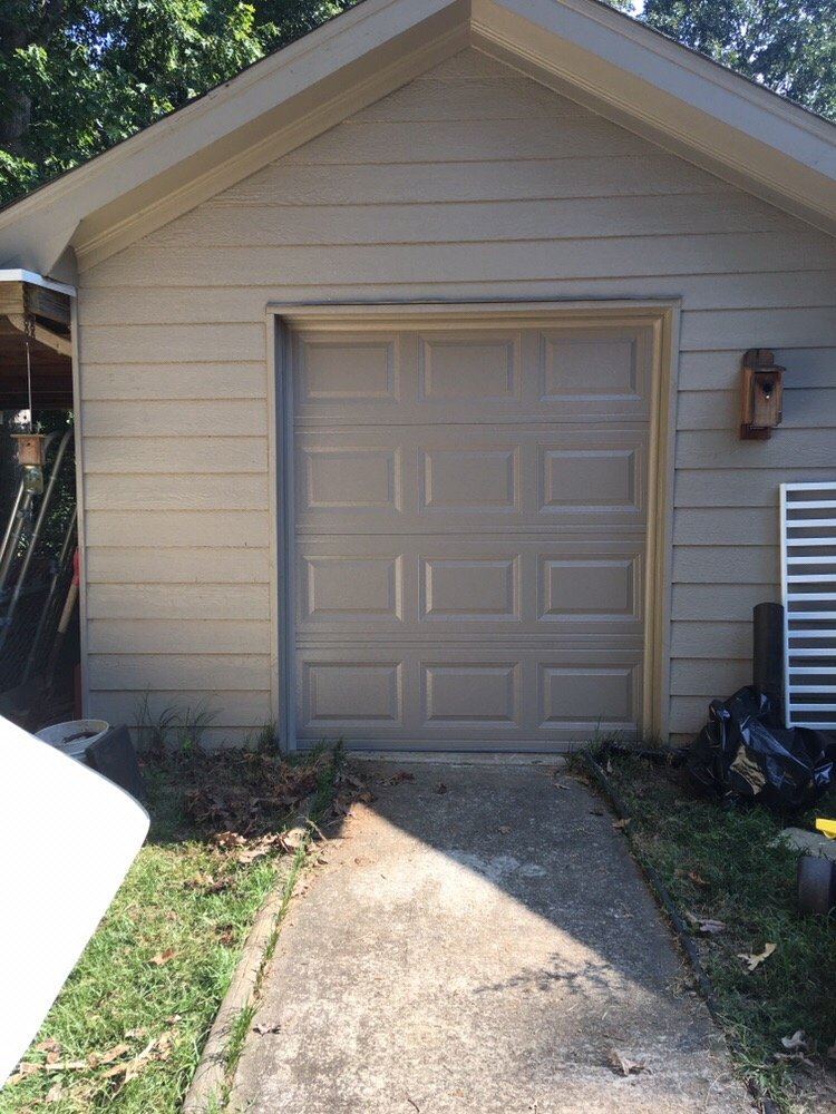 Golf cart garage door in suwanee ga yelp for Golf cart garage door