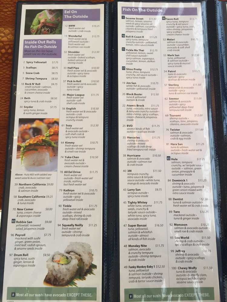 Small place but huge menu - Yelp