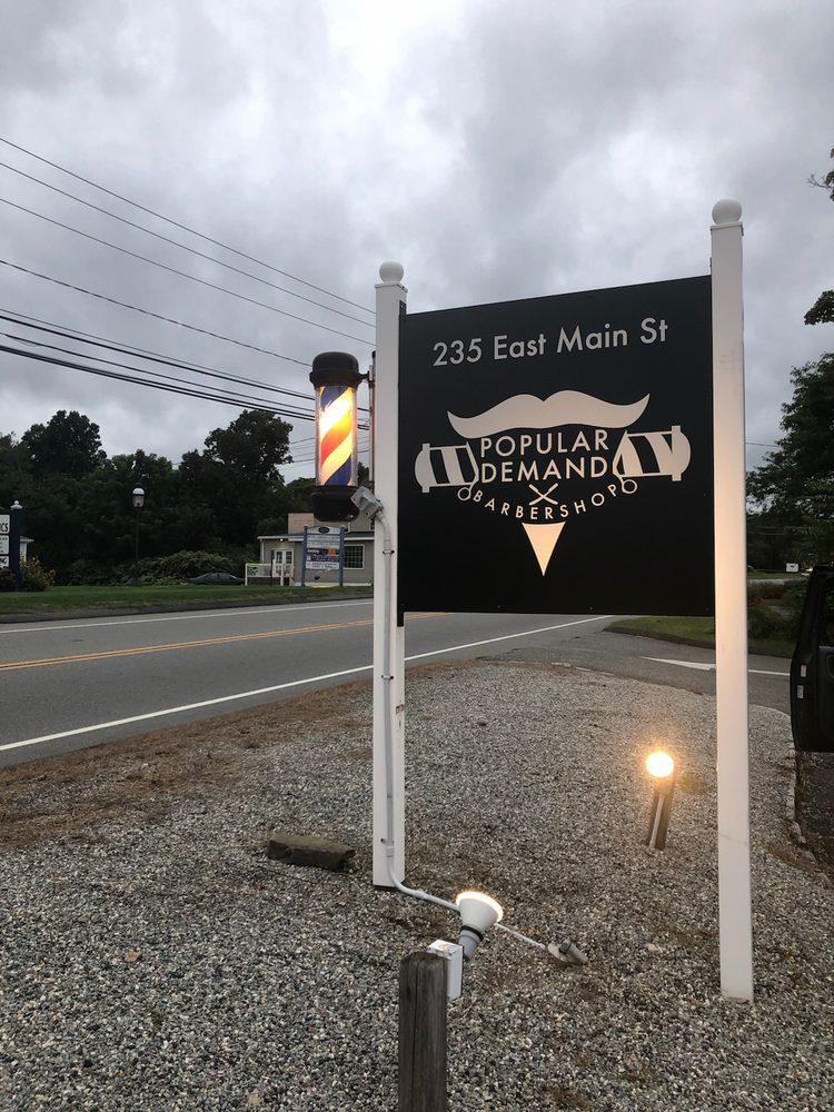 Popular Demand Barber Shop: 235 E Main St, Clinton, CT