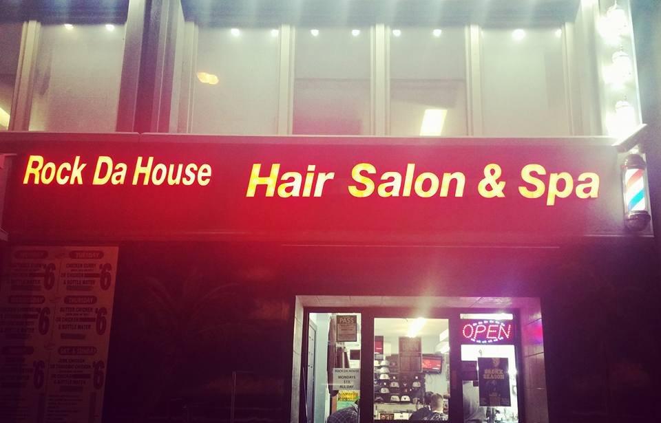 Rock da house barbershop salon fris rer 100 bond for 108 new bond street salon