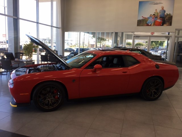 srt hellcat waiting on a new owner to take her home from mac haik chrysler jeep ram in houston. Black Bedroom Furniture Sets. Home Design Ideas
