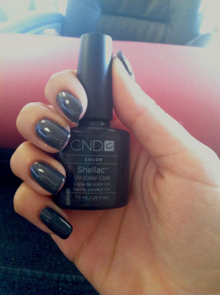 Creative Nail Design Cnd Shellac Power Polish In Black Pool Yelp