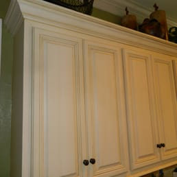 Photo Of Color Works Painting   Augusta, GA, United States. Glazed Cabinets