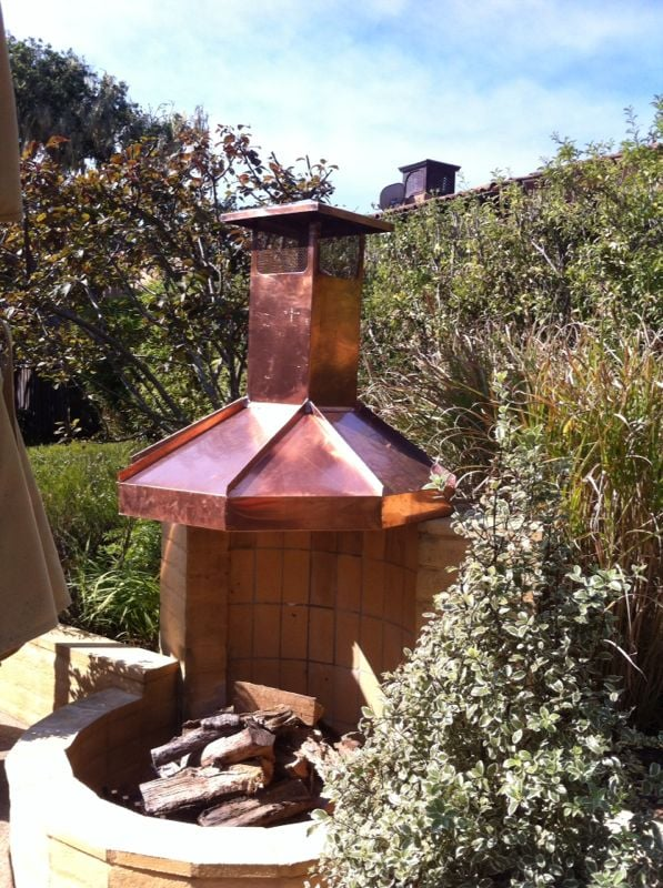 Copper Hood For Outdoor Fireplace Yelp