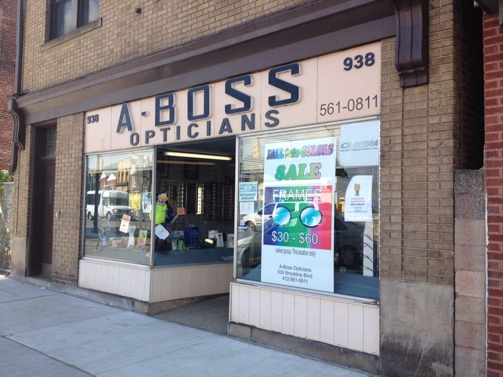 A Boss Opticians Eyewear Opticians 938 Brookline Blvd