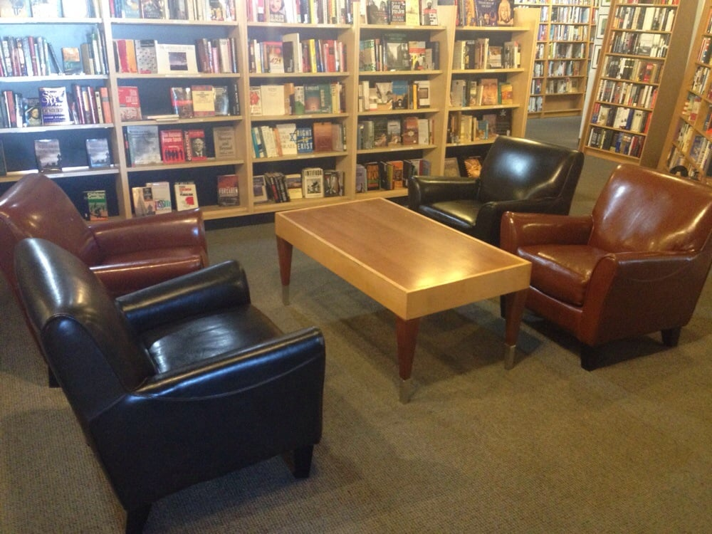 Photo Of Ukazoo Books   Towson, MD, United States. Plush Leather Chairs  ALLLLL