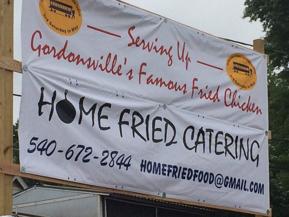 Gordonsville Fried Chicken Festival: 201 E Baker St, Gordonsville, VA