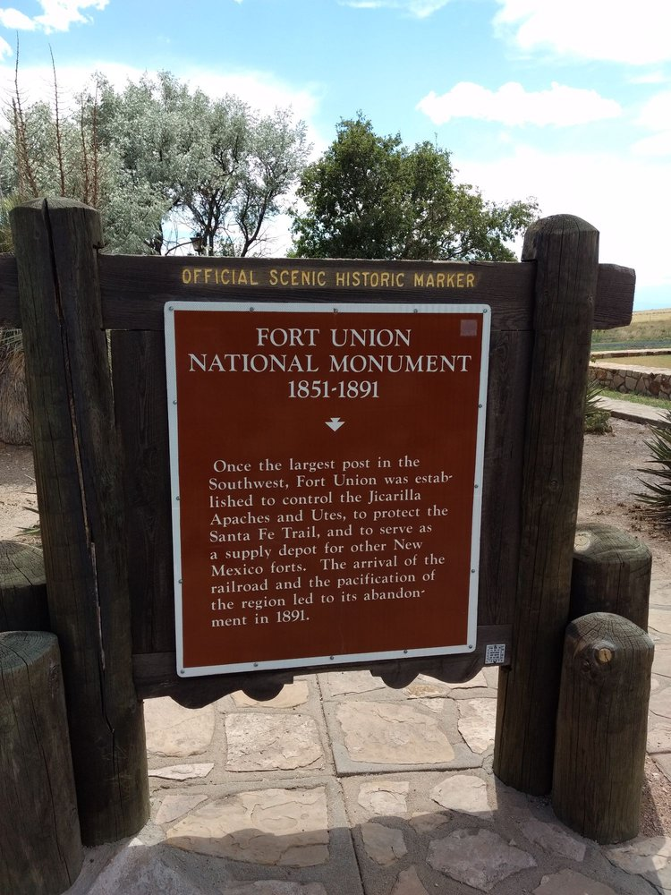 Fort Union National Monument: CanAm Hwy, Wagon Mound, NM
