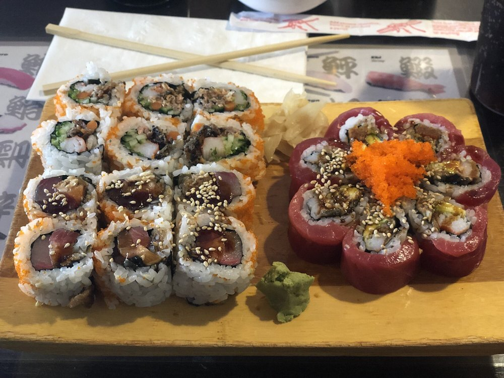 Food from Sushi Monster