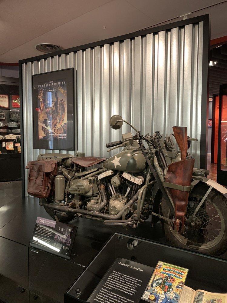 Social Spots from Harley-Davidson Museum