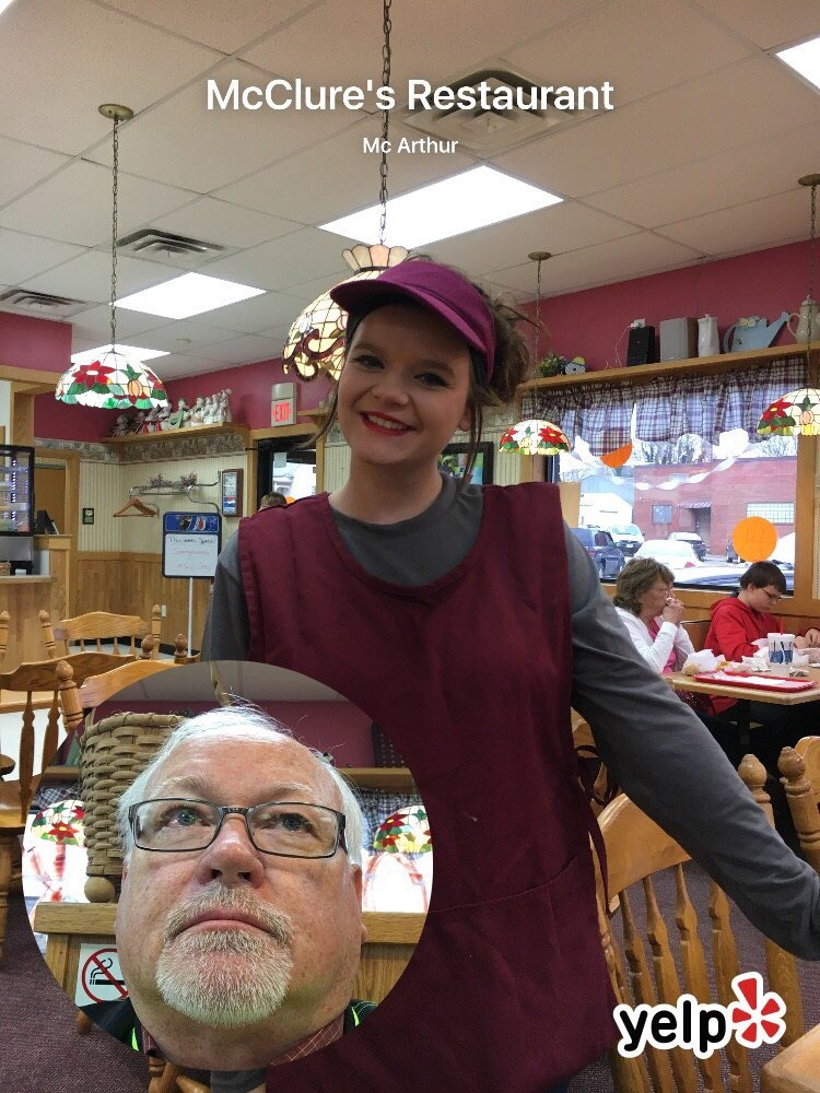 McClure's Restaurant: 203 W Main St, Mc Arthur, OH