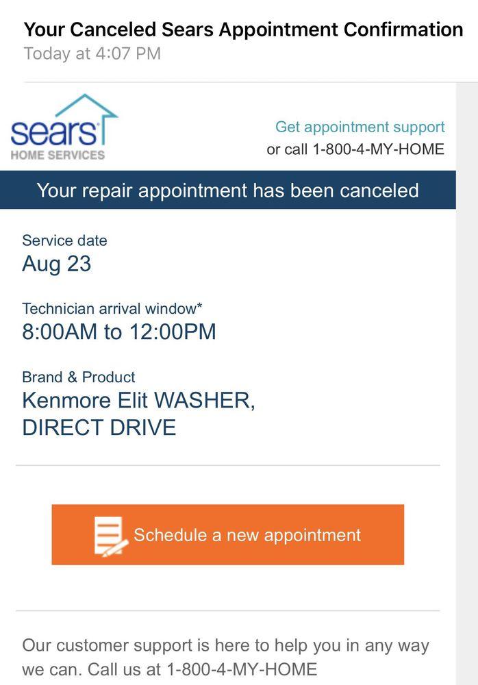 Sears Home Services 205 Reviews Appliances Repair 639 B