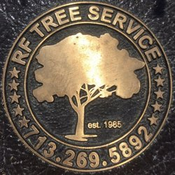 Photo Of Rf Tree Service Houston Tx United States Our Bronze Logo