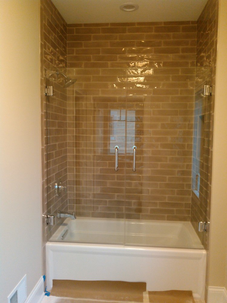 Fantastic Frameless Heavy Glass French Doors Style Shower Download Free Architecture Designs Scobabritishbridgeorg