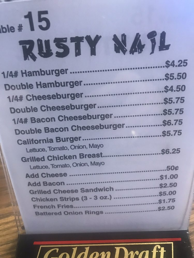 Rusty Nail: 307 Main Ave N, Thief River Falls, MN