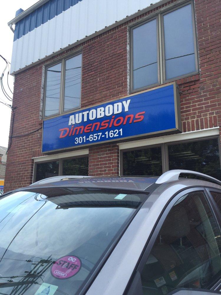 Autobody Dimensions - Bethesda: 5445 Butler Rd, Bethesda, MD