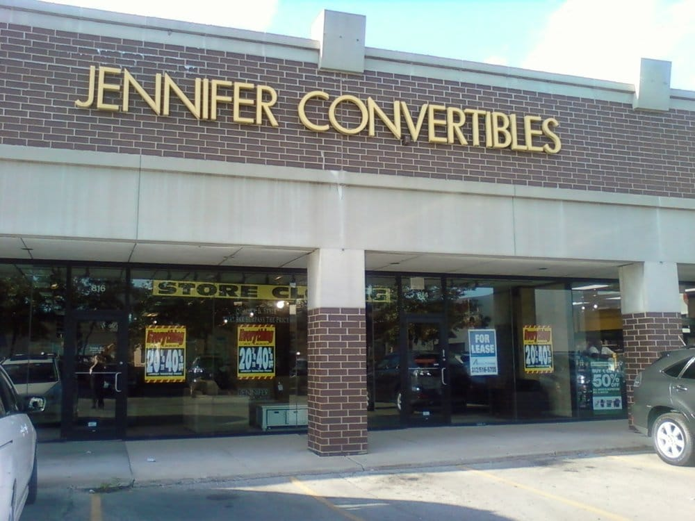 Jennifer Convertibles Closed Furniture Stores 814 W