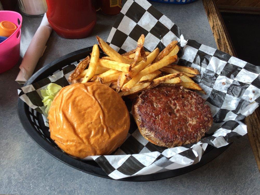 Highline Cafe & Saloon: 12799 Hwy 24, Hartsel, CO