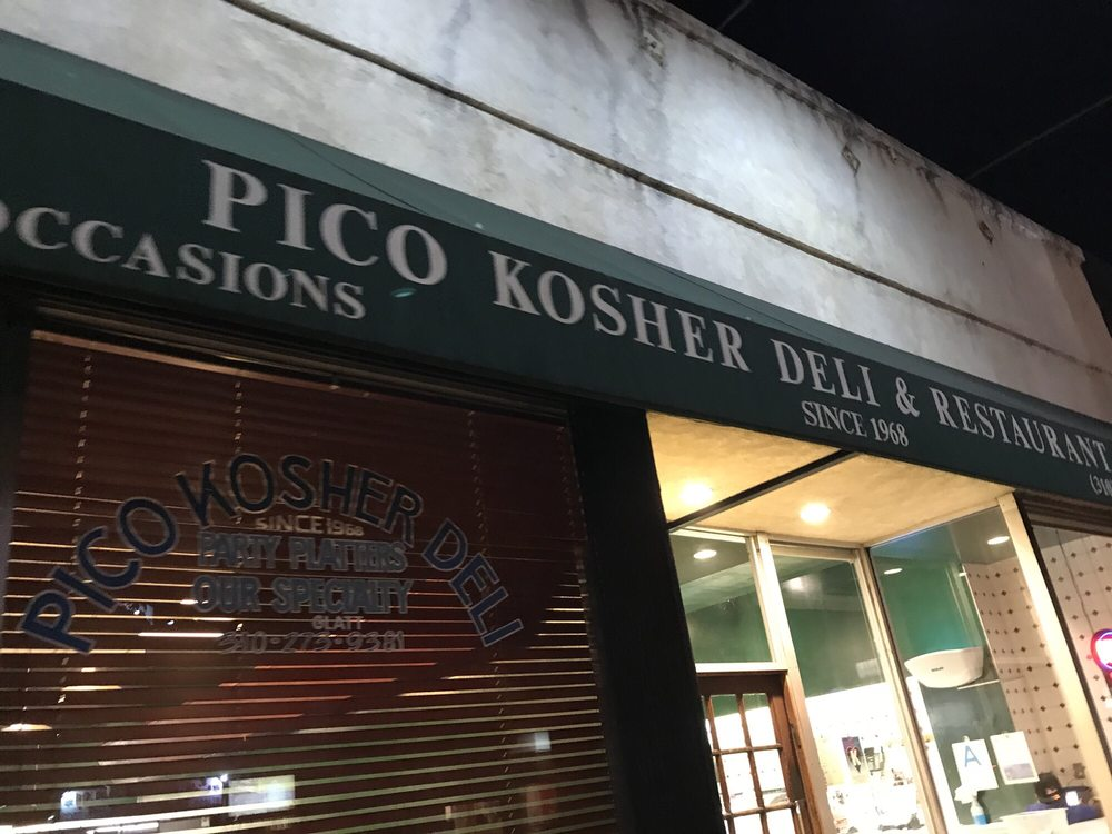 Photos for pico kosher deli yelp for Kosher cleaning requirements