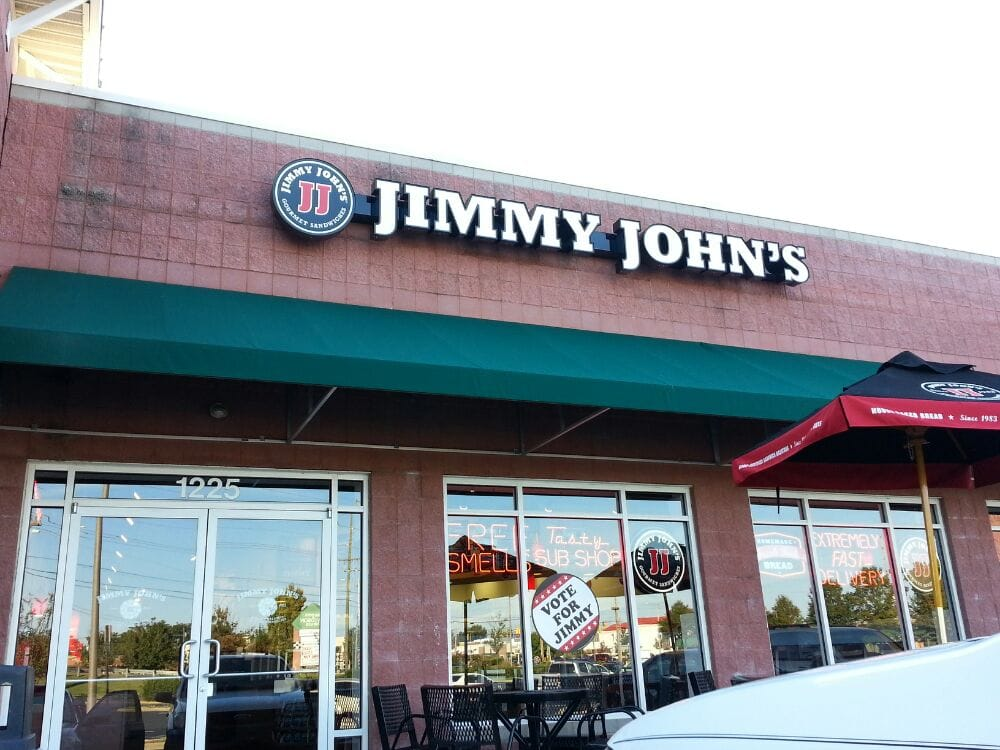 Jimmy John S Sandwiches 1225 Concord Pkwy Concord NC Restaurant Revie