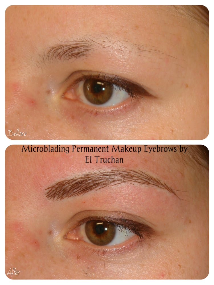 Eyebrows Microblading For Trichotillomania By El Truchan Perfect