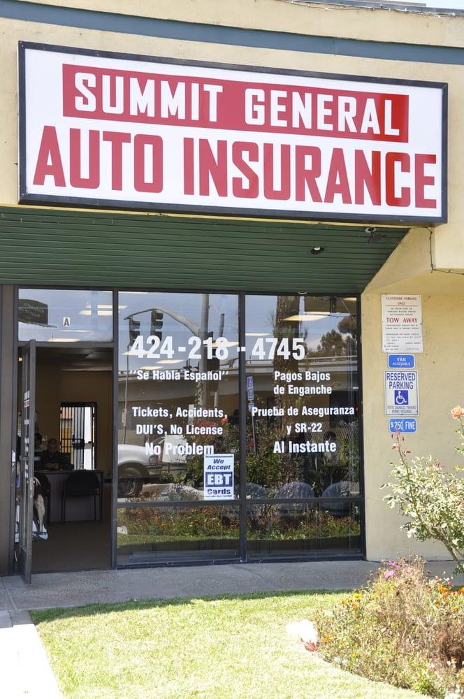 Summit General Insurance Auto Insurance 16129 Hawthorne Blvd Lawndale Ca United States