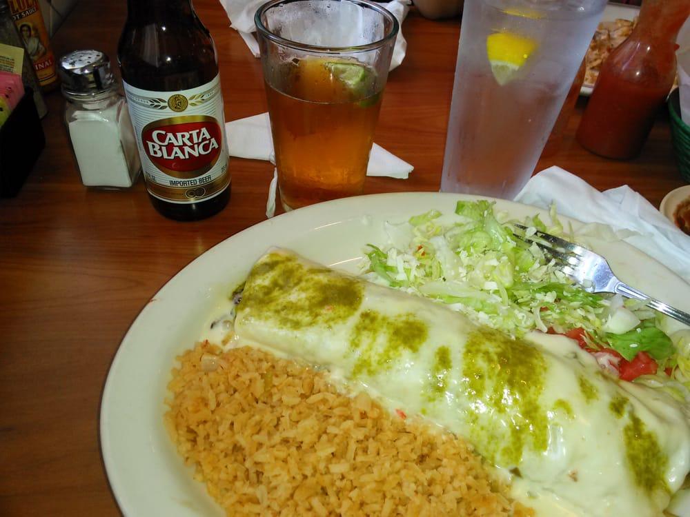 Los Arcos Mexican Restaurant Kannapolis Menu