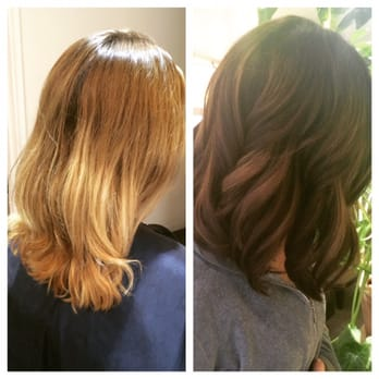 Astonishing Nikki Hair Cut Hair Color Balayage 69 Photos 65 Reviews Hair Hairstyle Inspiration Daily Dogsangcom