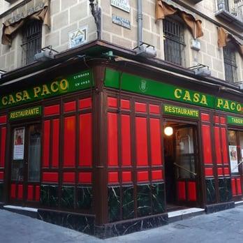Avis Restaurant Casa Paco Paris