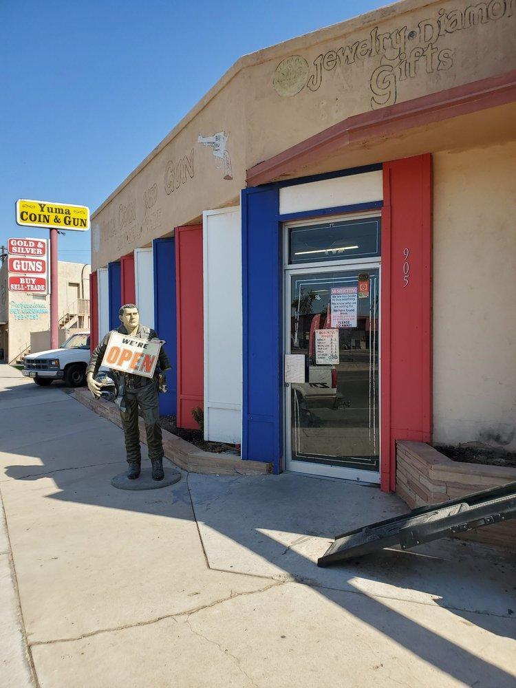 Yuma Coin & Gun: 905 S Orange Ave, Yuma, AZ