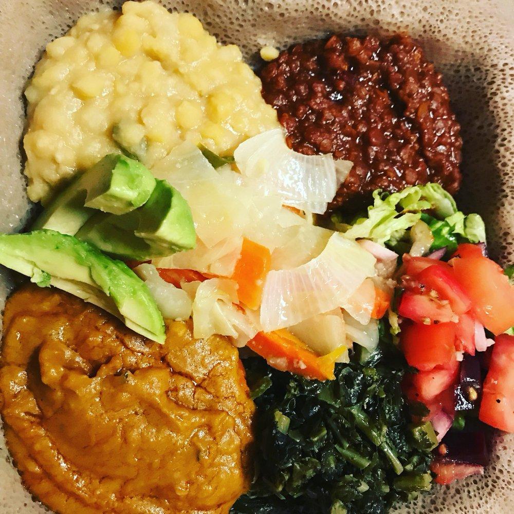 Queen of Sheba Ethiopian Restaurant: 1503 9th St NW, Washington, DC, DC