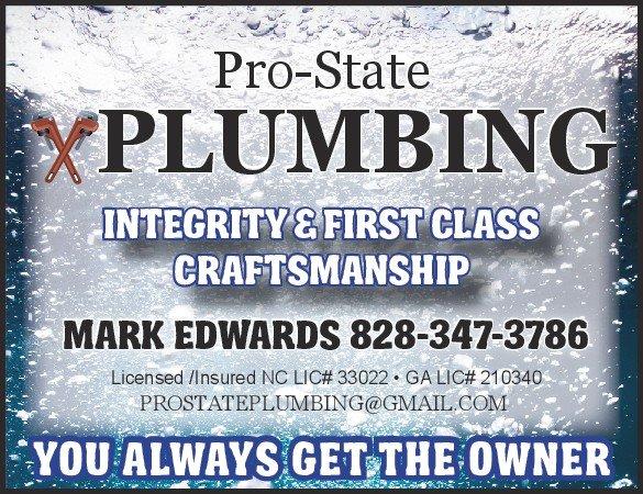 Pro State Plumbing: Hayesville, NC